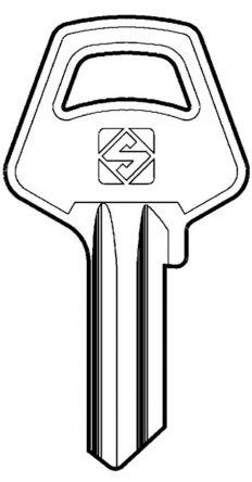 Silca MER1 Key blank