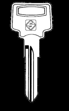 Silca NE40 Key Blank