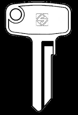Silca OLT1 Key blank