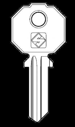 Silca PF2 Key blank