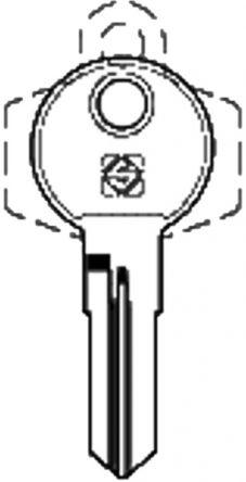 Silca REN5R Key blank