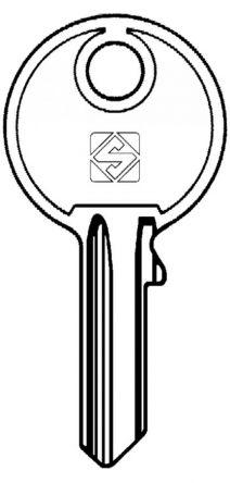 Silca RO21 Key blank