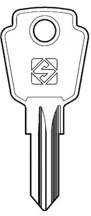 Silca KI10R Key blank