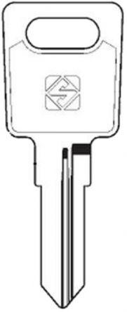 Silca RO77 Key blank
