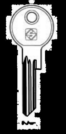 Silca RR2 Key blank