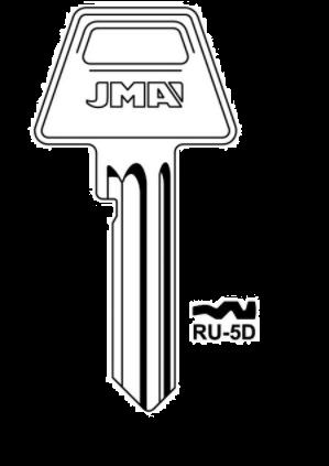 JMA RU-5D Key Blank