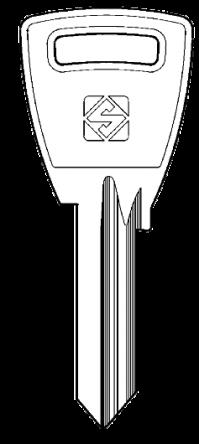 Silca SI4R Key blank