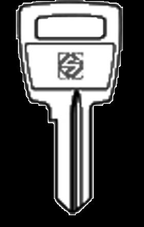 Silca S15R Key blank