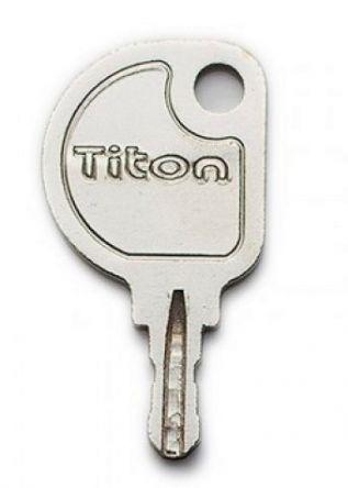 Replacement pre-cut Titon 27 SLT2 Window Key  To suit Titon 27 espag window handle locks