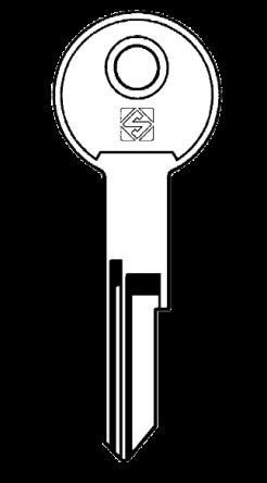 Silca STA1 Key blank