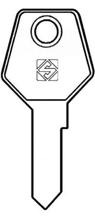 Silca STR4R Key blank