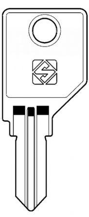Replacement Wesko & Storwal KRML Removal Key For Wesko, Pundra, Esp and Storwall K Series Locks For lock codes K001 - K200, K0001 - K1092