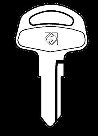 Silca SZ4 Key blank