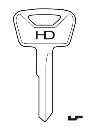 HD TA6 Key Blank