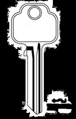 Union 903 Key blank