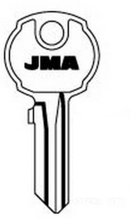 Replacement Union NKW A Series Keys  For codes NKW A101 - NKW A200  Found on Filing Cabinets