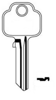 Union 575 Key Blank