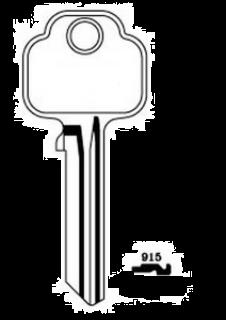 Union 915 Key Blank