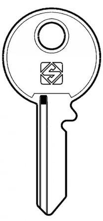 Silca UNI10 Key blank