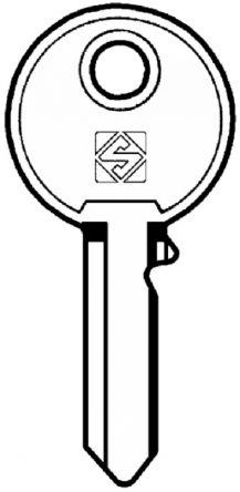 Silca UNI25 Key blank