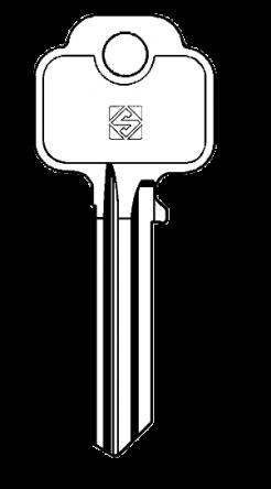 Silca UNI32 Key blank