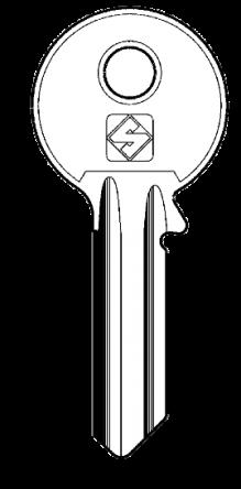 Silca VI13 Key blank