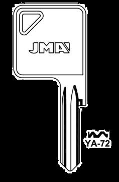 JMA YA-72 Key blank