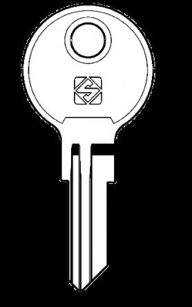 Silca YA18 Key blank