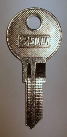 Replacement Southco CH751 key