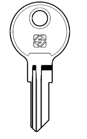 Replacement Chicago G Series Keys   Codes  G101 - G150   Found on various Chicago Locks   Master Key - GMST  Removal Key - GRML  Image of key is for illustration