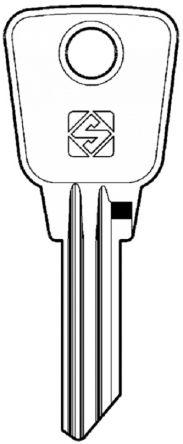 Silca YA19 Key blank