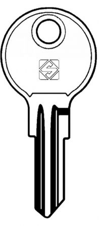 Replacement Hudson & HON HK Series Keys  Codes HK001 - HK200   Found on various Office Furniture   Image of key is for illustration