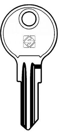 Silca YA4R Key blank