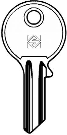 Replacement Yale F50 Pass Key  commonly used on key switches, office furniture, filing cabinets, desks and lockers.