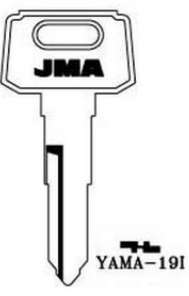 JMA YAMA-19I Vehicle Key Blank