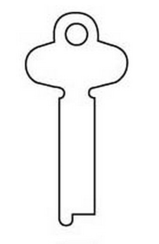 Silca ZA Key blank