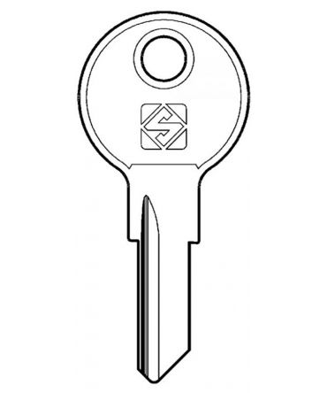 Chicago G Series Removal Key, for lock codes G101 - G150