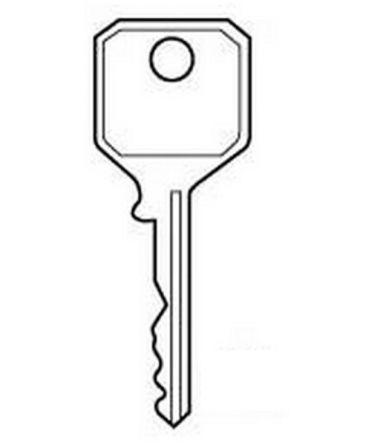 Replacement Pre-cut 303C & KB106 Window Key To suit WMS / Avocet window Espag Handles Features To suit WMS / Avocet Window locks