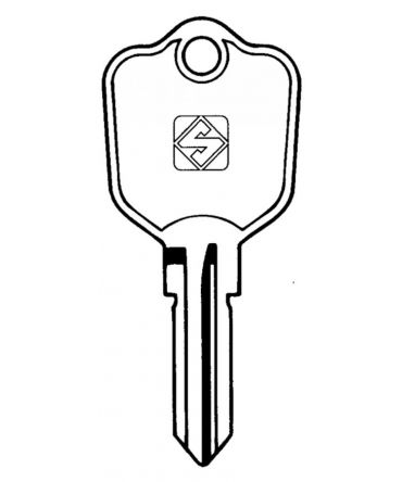 Replacement British Classic Car & Caravan Key 