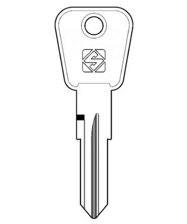 Replacement  Classic Car & Office Furniture  Key   For L&F Lowe & Fletcher VM Series Keys  Codes VM101 - VM225
