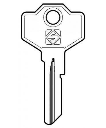 Replacement Giussani Keys  For codes E3001 - E3480